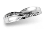 D5019 Diamond Wave Ring