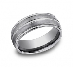 RECF58180TG Men's Tungsten Band