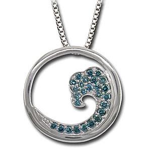 CP1930 Diamond Wave Necklace