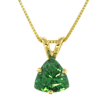 CP2061 GreenTourmaline Necklace