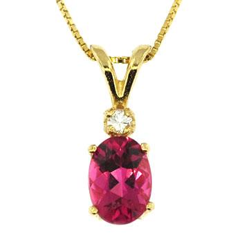 CP2115 Tourmaline & Diamond Necklace