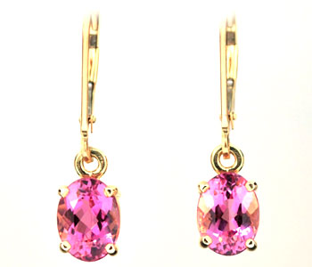 CE1919 Pink Tourmaline Earrings