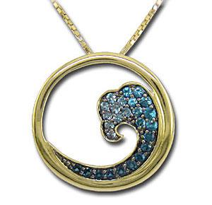 CP1948 Diamond Wave Necklace