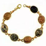 KBBG2 Med. Beach Stone Bracelet