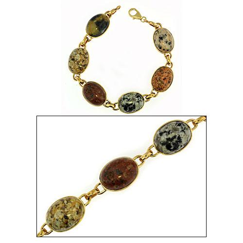 KBBG3 Lg. Beach Stone Bracelet