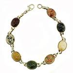 KBBS1 Sm. SS Beach Stone Bracelet