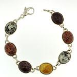 KBBS2 Med. SS Beach Stone Bracelet