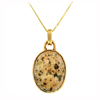 KBP4-2 Beach Stone Necklace