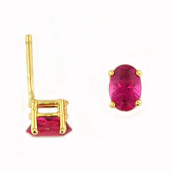 CE2074 Tourmaline Stud Earrings