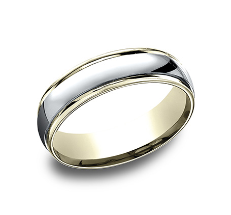 CF15608 Men's 14K Two Tone Band