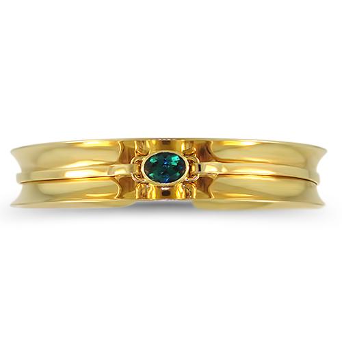 Blue Tourmaline Cuff