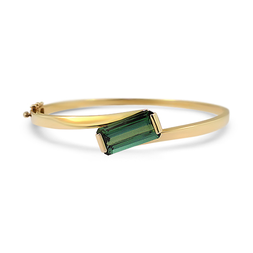 Blue Green Passing Ships Bangle