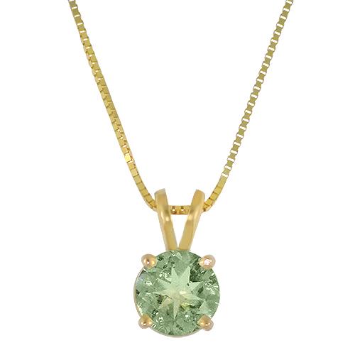 Mint Tourmaline Necklace