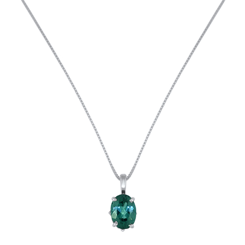 Blue Tourmaline Necklace