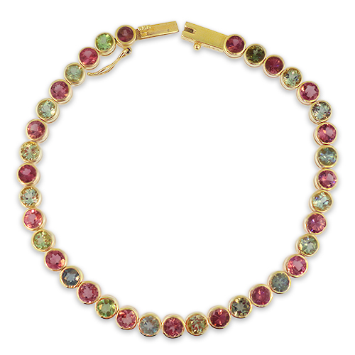 Maine Tourmaline Bracelet