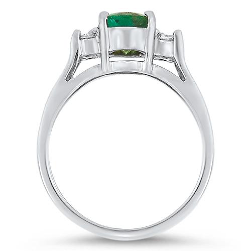 Green Tourmaline Rnig