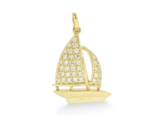 Diamond Sailboat