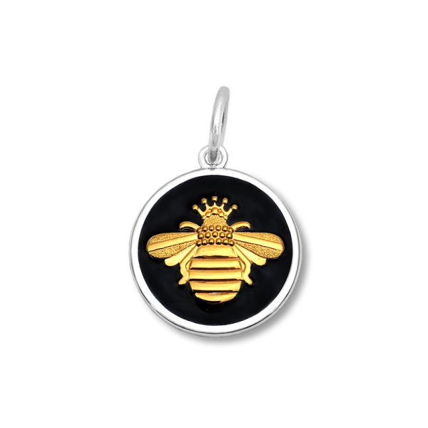 Black and gold bee