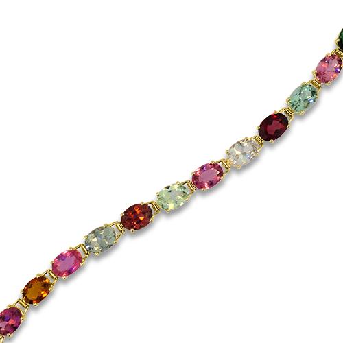 Tourmaline Bracelet Close Up