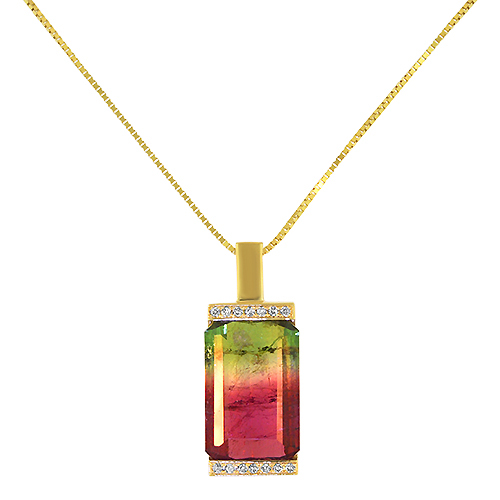 Beacon of Light Watermelon Tourmaline