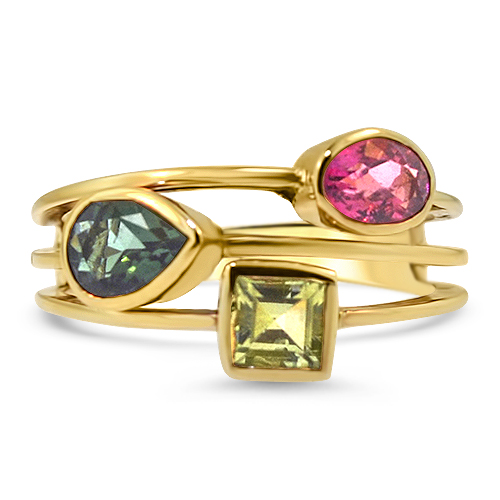 Stacking Tourmaline Ring