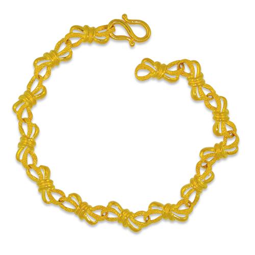 24KG Bow Bracelet