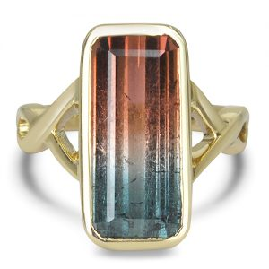 Blue to Pink Bi Color Tourmaline