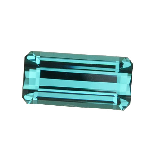 Blue Emerald Cut Tourmaline