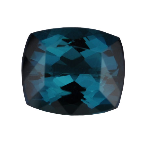 4.17ct Blue Cushion Cut Tourmaline Loose Stone