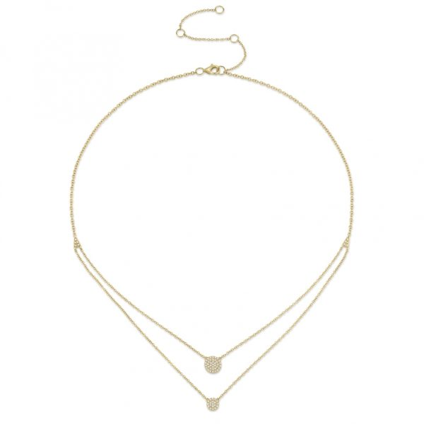 Double Circle in Yellow Gold