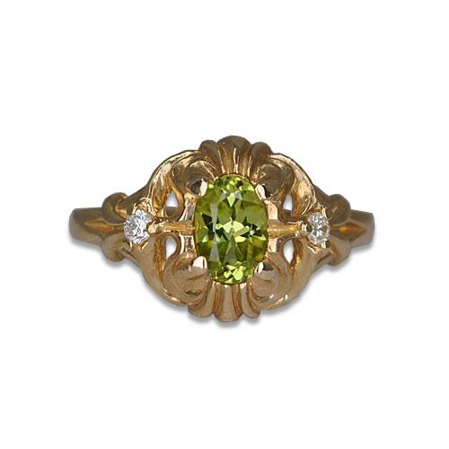 Peridot Vintage Ring