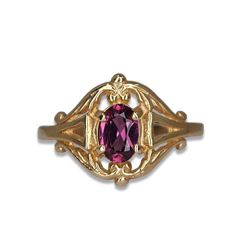 Garnet Vintage Ring