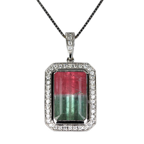 Watermelon tourmaline enhancer 14kw