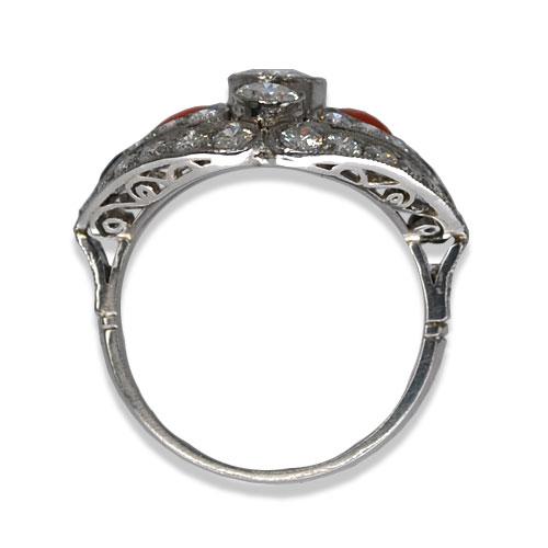 Vintage Diamond Ring Profile