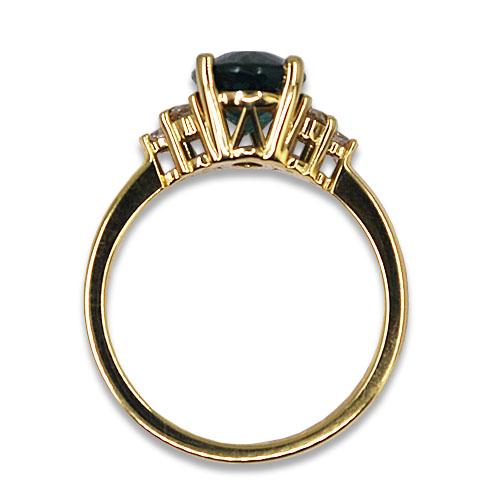 blue three dories ring profile