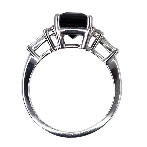 maine tourmaline profile ring