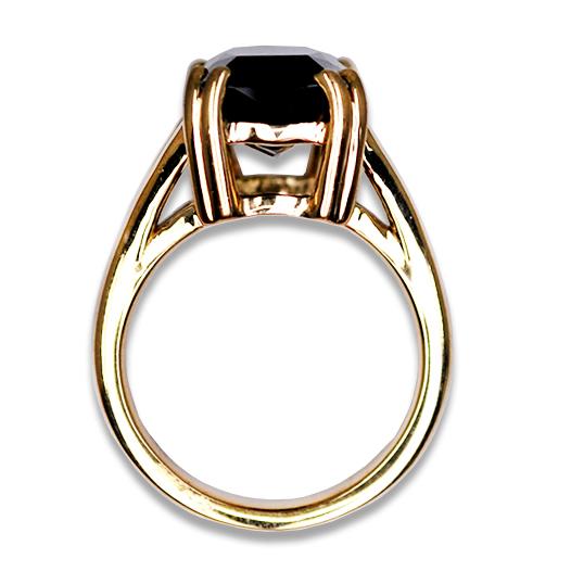 estate green tourmaline ring