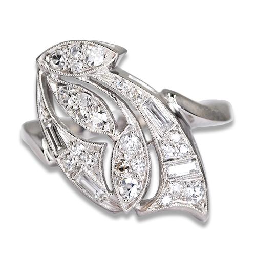 vintage dia ring 14kw